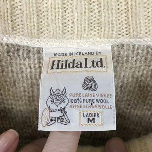 hilda Sweaters - Hilda Icelandic cardigan sweater medium